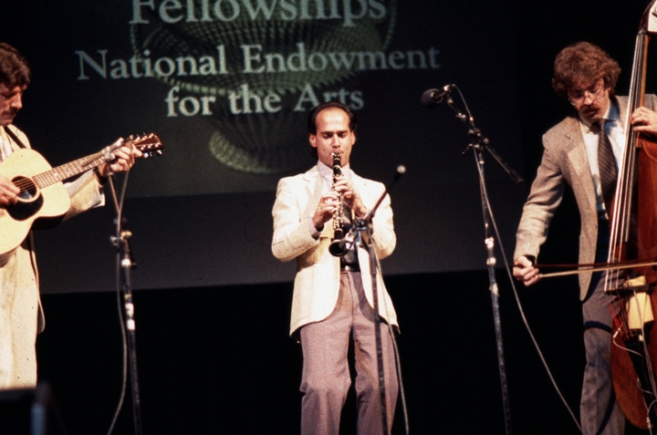 Dave Tarras tribute, 1984 National Heritage Fellowship Concert, courtesy National Endowment for the Arts