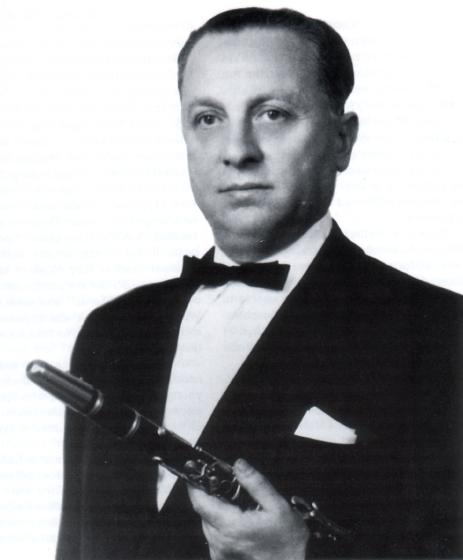 Dave Tarras, ca. 1940s, courtesy Henry Sapoznik