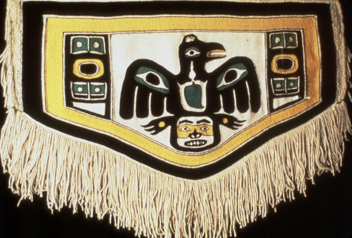 Chilkat blanket by Jennie Thlunaut, courtesy National Endowment for the Arts
