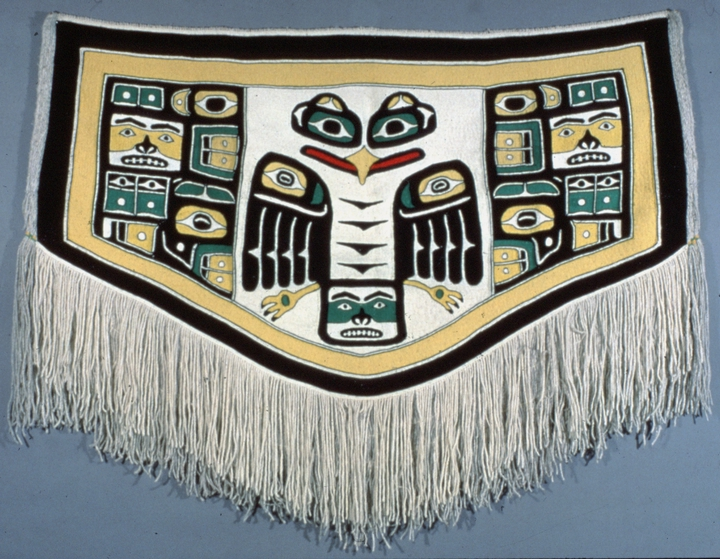 Eagle Crest blanket by Jennie Thlunaut, courtesy National Endowment for Arts
