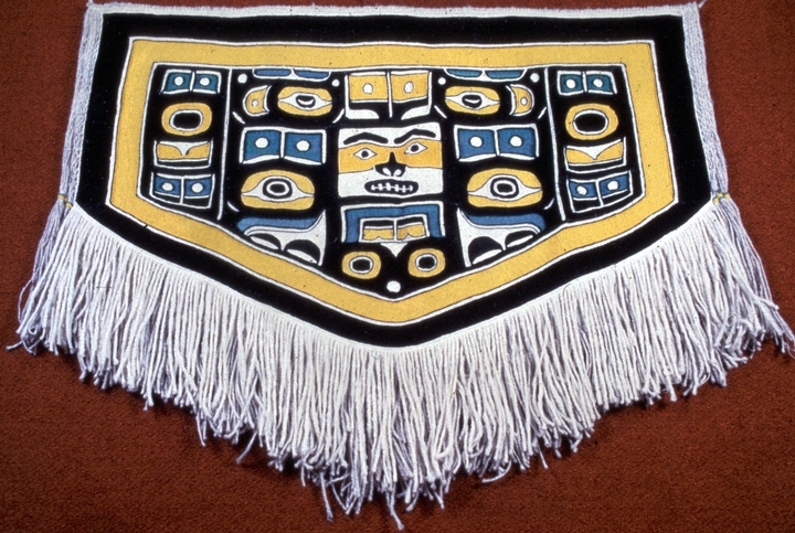 Classic Chilkat blanket by Jennie Thlunaut, courtesy National Endowment for the Arts