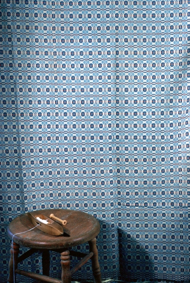 Weaving (detail) by Dorothy Thompson, photograph by Gerald Milnes, Augusta Heritage Center