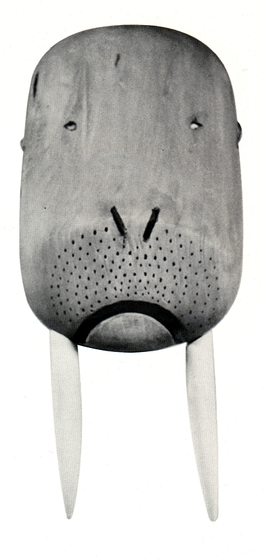 Inupiat mask by Paul Tiulana, courtesy National Endowment for the Arts and Alaska State Council on the Arts