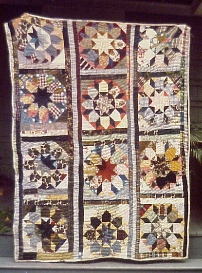Star of Bethlehem quilt by Lucinda Toomer, photograph by Maude Wahlman, courtesy National Endowment for the Arts
