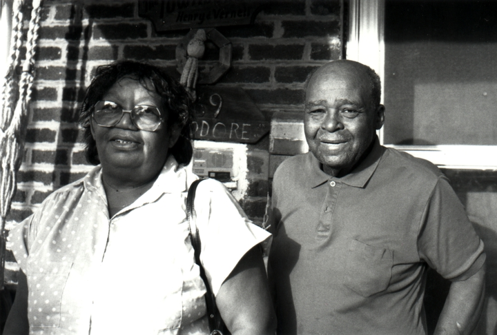 Henry Townsend and his wife, Vernell, St. Louis, Missouri, 1991, photograph by Alan Govenar