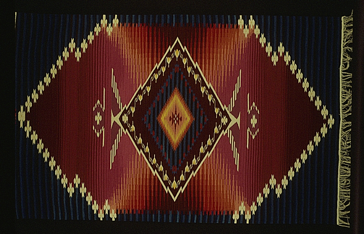 Weaving by Irvin L. Trujillo and Nicholas R. Spitzer, courtesy Irvin L. Trujillo