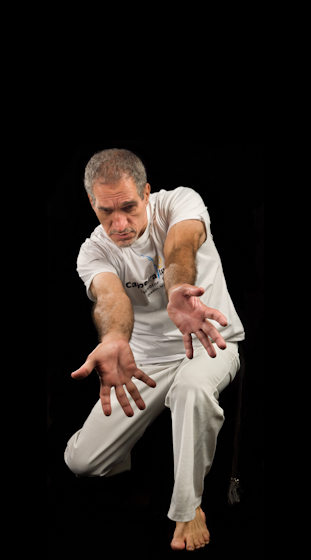 Jelon Vieira is at the forefront of promoting and presenting the traditional Afro-Brazilian art form capoeira through performing, teaching and providing a wealth of knowledge and expertise on Brazilian culture to scholars and historians. Bethesda, Maryland, 2008, photograph by Alan Govenar