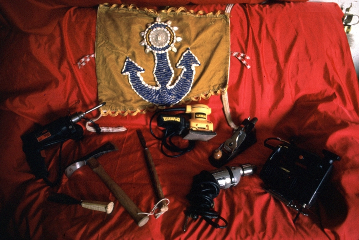 Felipe García Villamil's tools, courtesy National Endowment for the Arts