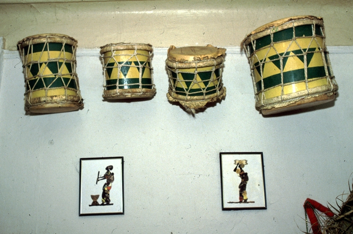 *Yesa* drums crafted by Felipe García Villamil, courtesy National Endowment for the Arts