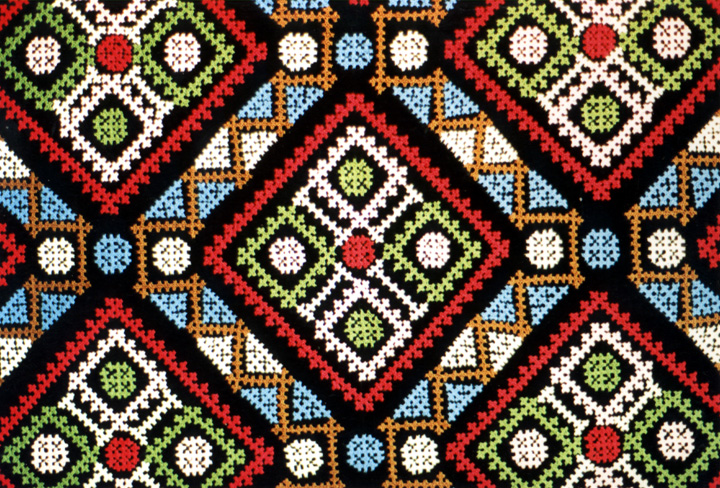 Marash embroidery (detail) by Lily Vorperian, courtesy Lily Vorperian