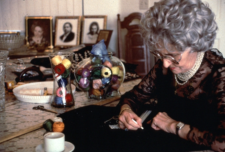 Lily Vorperian at work, courtesy National Endowment for the Arts
