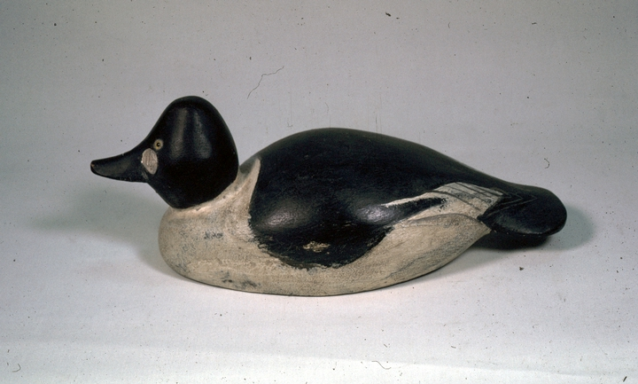 Lem Ward's first decoy, 1918, courtesy National Endowment for the Arts