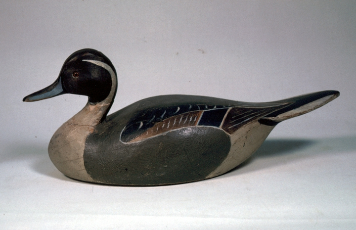 Pintail decoy by Lem Ward, 1930, courtesy National Endowment for the Arts