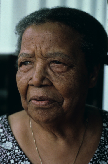 Gussie Wells, photograph by Eli Leon, courtesy National Endowment for the Arts