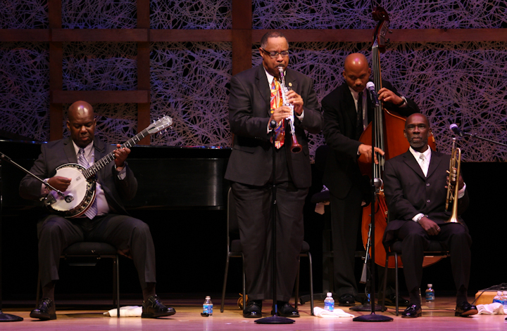 Michael White and his band, 2008 National Heritage Fellowship Concert, Bethesda, Maryland, Photograph by Michael G. Stewart