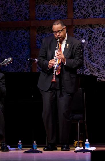 Michael White, 2008 National Heritage Fellowship Concert, Bethesda, Maryland, Photograph by Alan Hatchett