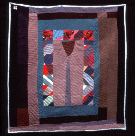 'Medallion' quilt, pieced by Arbie Williams, quilted by Irene Bankhead, courtesy National Endowment for the Arts