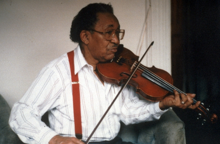 Claude Williams, photograph by Russ Dantzler, courtesy National Council for the Traditional Arts