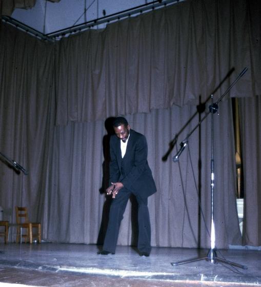 """Horace """"Spoons"""" Williams, courtesy Folklife Center, International House of Philadelphia"""