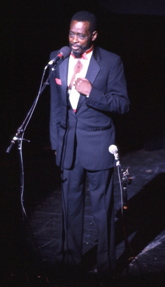 "Horace ""Spoons"" Williams, 1985 National Heritage Fellowship Concert, courtesy National Endowment for the Arts"