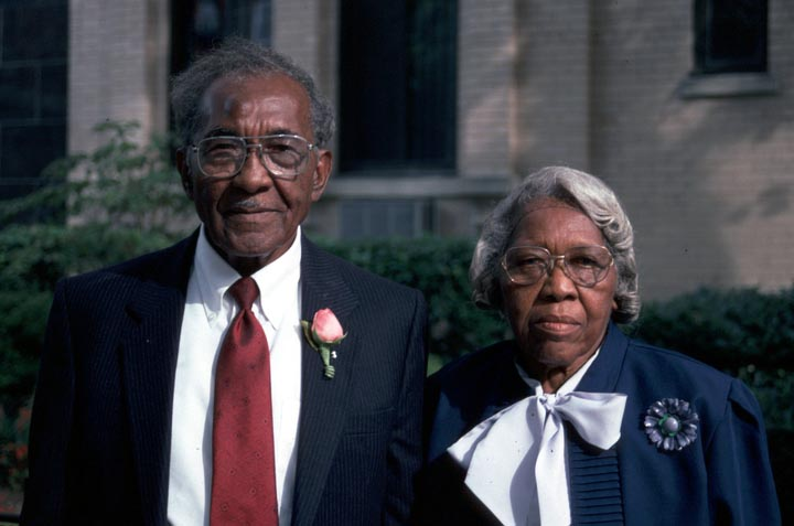 Ruth and Elder Roma Wilson, Washington, D.C., 1994, photograph by Alan Govenar