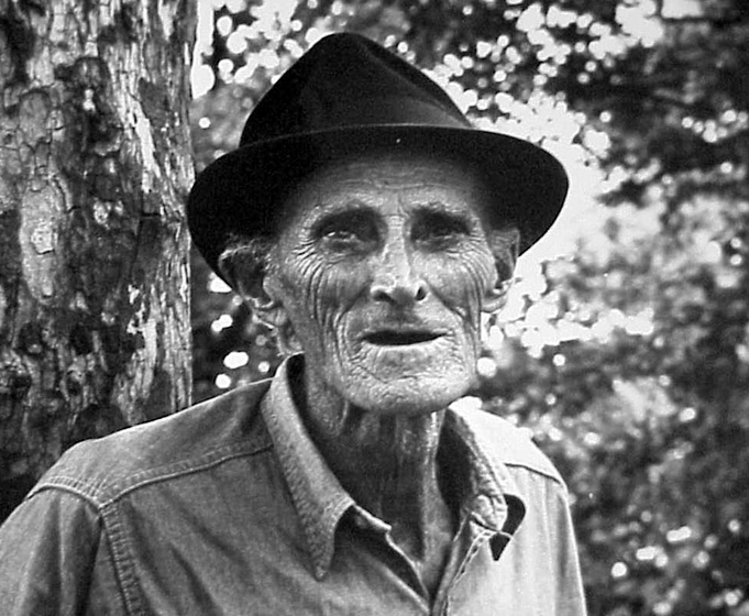 "Singer Nimrod Workman learned old British ballads from his grandfather while growing up in Appalachia. Later, Workman  wrote songs about the trials of mining coal such as ""Coal Black Mining Blues."" Photograph by Douglas Yarrow, courtesy National Endowment for the Arts"
