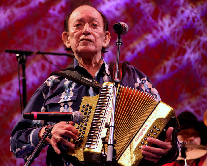 "Leonardo ""Flaco"" Jiménez performing at the 2012 National Heritage Fellowship Concert, Washington, D.C., courtesy National Endowment for the Arts"