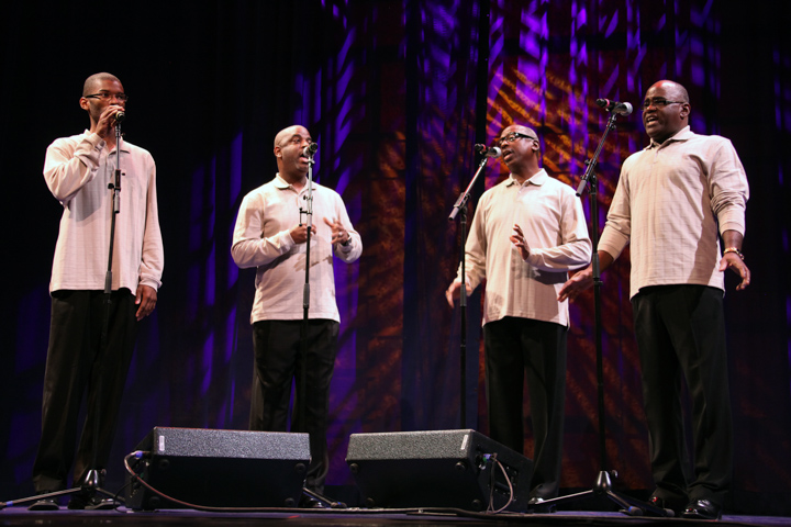The Paschall Brothers performing at the 2012 National Heritage Fellowship Concert, Washington, D.C., photograph by Michael G. Stewart