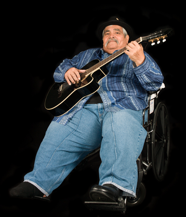 "Ramón ""Chunky"" Sánchez, Washington, D.C., 2013, photograph by Alan Govenar"