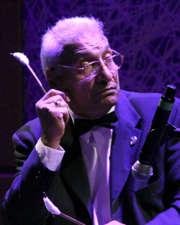 Nicolae Feraru performing at the 2013 National Heritage Fellowship Concert, Washington, D.C., photograph by Michael G. Stewart