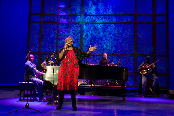 Carol Fran performing at the 2013 National Heritage Fellowship Concert, Washington, D.C., photograph by Michael G. Stewart
