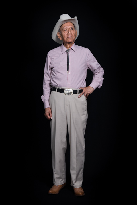 "Manuel ""Cowboy"" Donley, Washington, D.C., 2014, photograph by Alan Govenar"