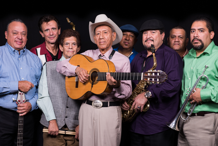"Manuel ""Cowboy"" Donley with his band, Washington, D.C., 2014, photograph by Alan Govenar"