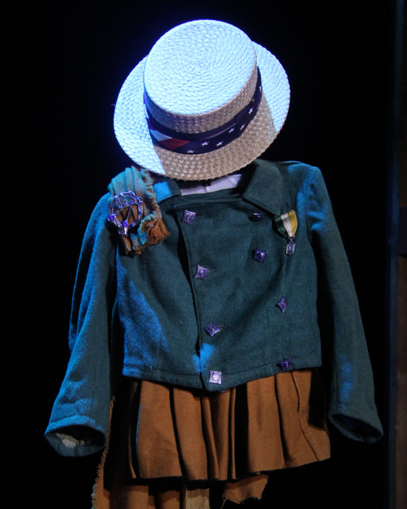 Kevin Doyle's childhood uniform, 2014 National Heritage Fellowship Concert, Washington, D.C., photograph by Michael G. Stewart