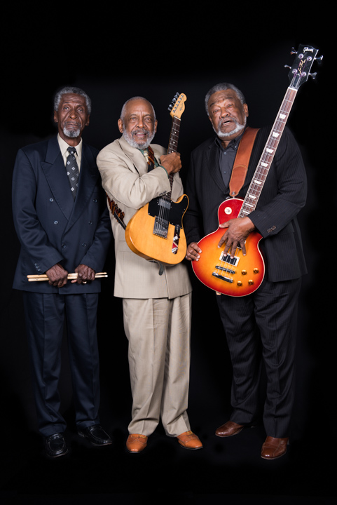 Popsy Dixon, Wendell Holmes and Sherman Holmes, Washington, D.C., 2014, photograph by Alan Govenar