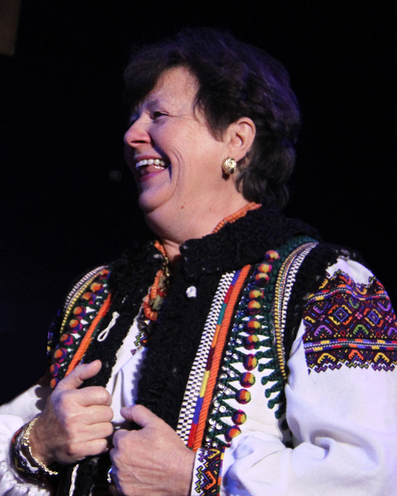 Vera Nakonechny at the 2014 National Heritage Fellowship Concert, Washington, D.C., photograph by Michael G. Stewart