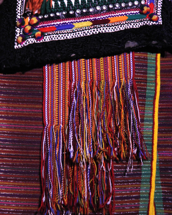 Costume detail, 2014 National Heritage Fellowship Concert, Washington, D.C., photograph by Michael G. Stewart