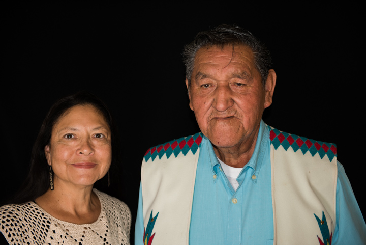 Rufus White and colleague Vida Stabler, Rosslyn, VA, 2014, photograph by Alan Govenar