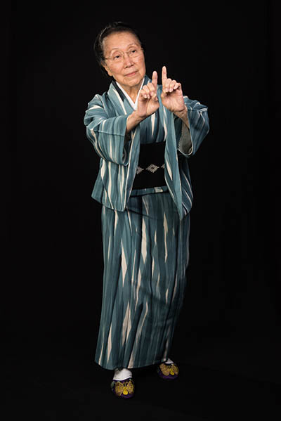 Gertrude Yukie Tsutsumi, Washington, D.C., 2015, photograph by Alan Govenar.