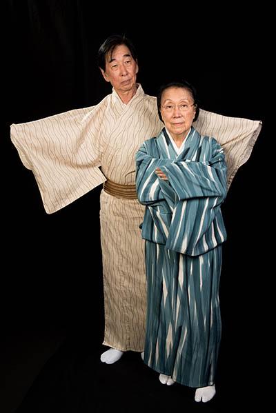 Gertrude Yukie Tsutsumi and colleague, Washington, D.C., 2015, photograph by Alan Govenar.
