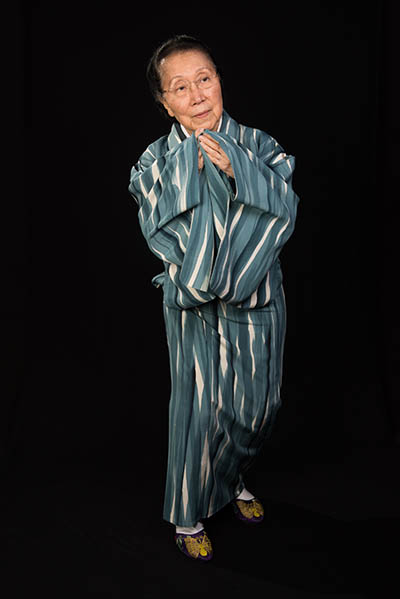 Gertrude Yukie Tsutsumi, Washington, D.C., 2015, photograph by Alan Govenar.