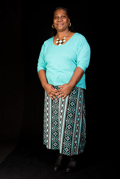 Claudine Pettway, Washington, D.C., 2015, Photograph by Alan Govenar.