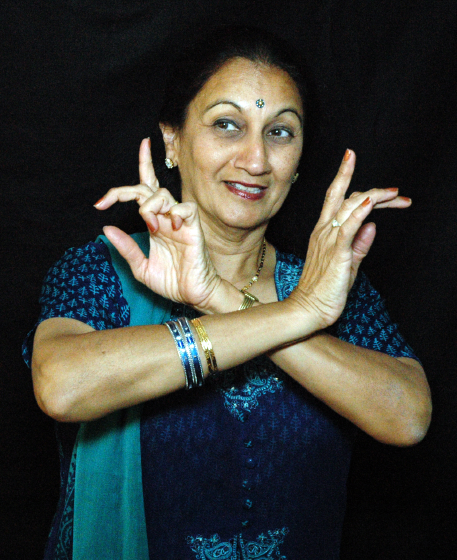 Anjani Ambegaokar, Arlington, Virginia, photograph by Alan Govenar, 2004