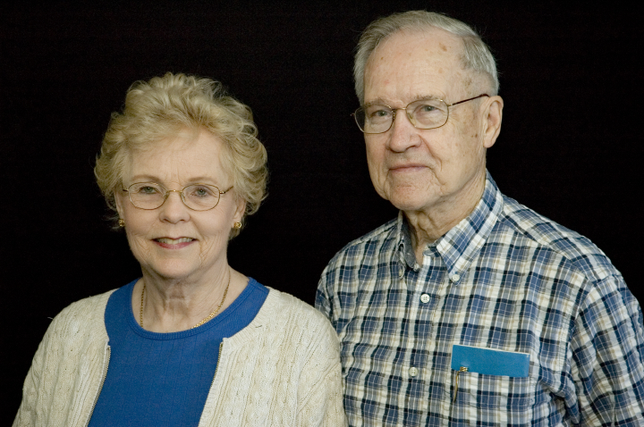 Eldrid Arntzen and her husband, Norman Arntzen, Arlington, Virginia, 2005, photograph by Alan Govenar