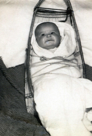 Loren Bommelyn when he was a baby, courtesy Loren Bommelyn
