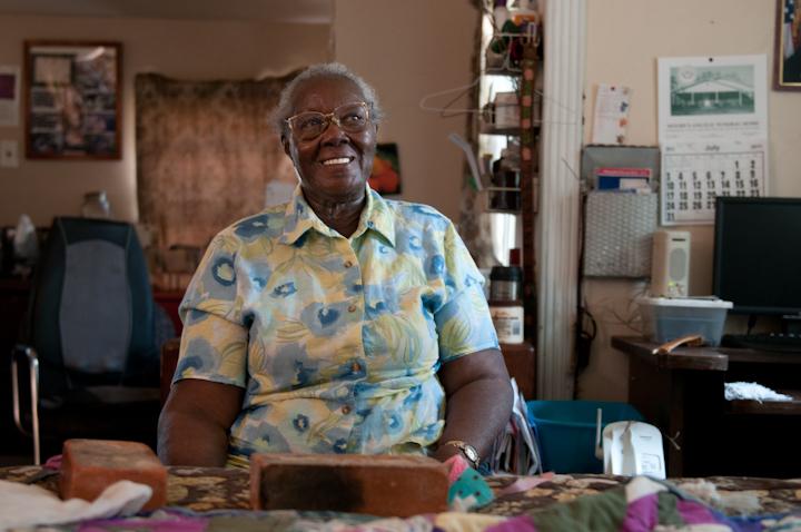 Laverne Brackens, Fairfield, Texas, July 6, 2011, photograph by Alan Govenar
