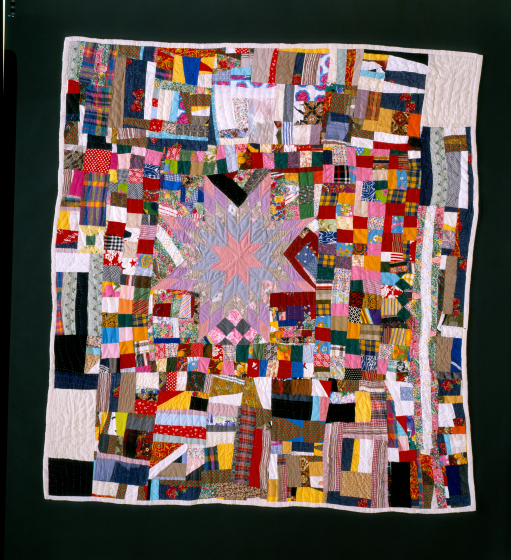 Laverne Brackens, 'Improved Bow Tie Quilt,' 1993, photograph by Eli Leon, courtesy National Endowment for the Arts
