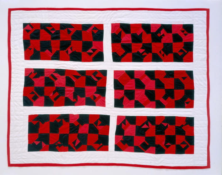 Laverne Brackens, 'Improved Bow Tie Quilt,' photograph by Eli Leon, courtesy National Endowment for the Arts