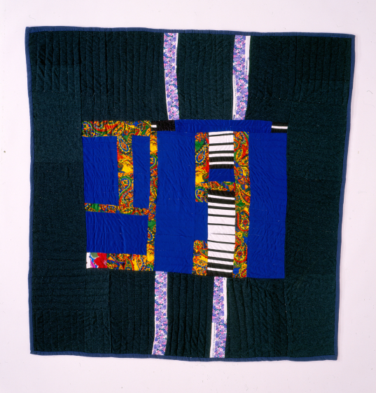 Laverne Brackens, 'Medallion Quilt,' 1992, photograph by Eli Leon, courtesy National Endowment for the Arts