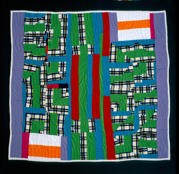 Laverne Brackens, 'Medallion Quilt,' 1993, photograph by Eli Leon, courtesy National Endowment for the Arts